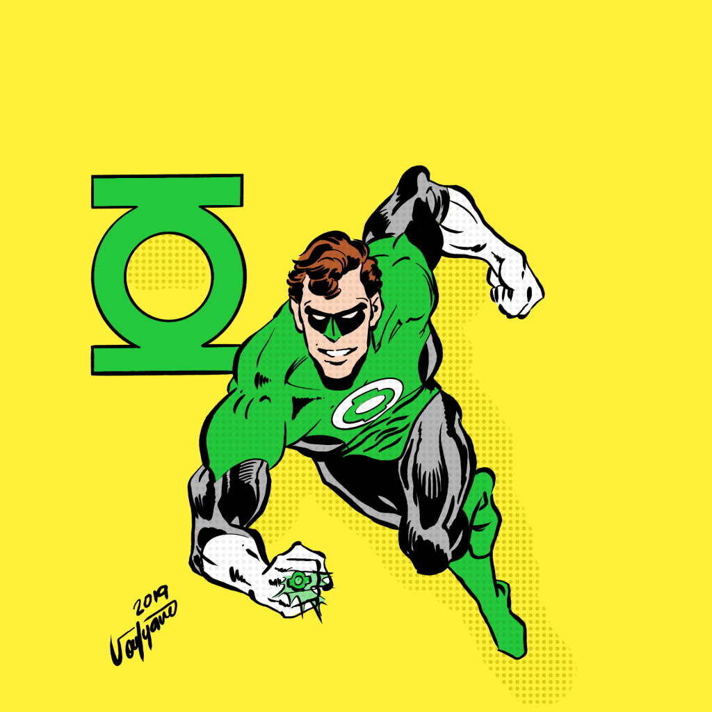 Green Lantern By SoufyaneZ DigitallyDrawing.com