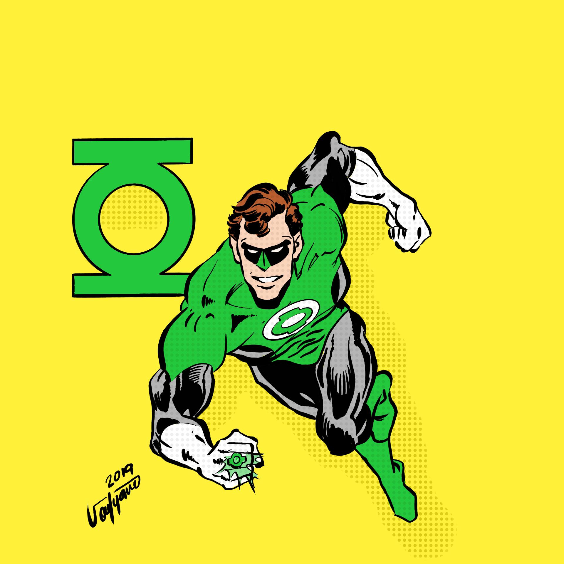 Green Lantern By SoufyaneZ DigitallyDrawing.com